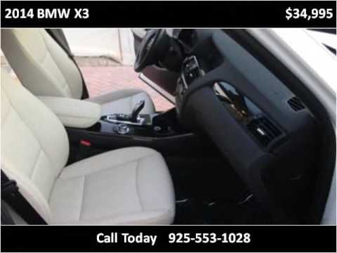 2014 BMW X3 Used Cars San Ramon CA