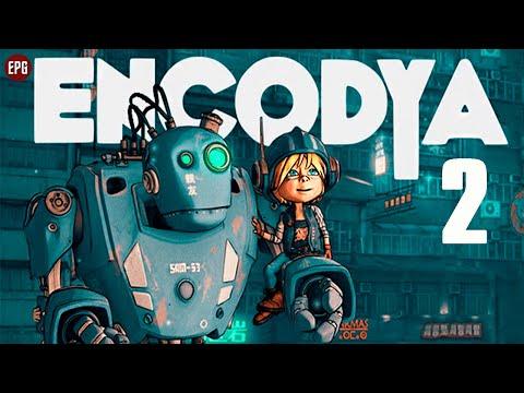Encodya   Девочка и Робот   Полное прохождение на русском #2 (стрим)