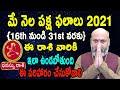 May Rasi Phalalu   16th May to 31st May   Dhanussu Rashi 2021   Nanaji Patnaik   Pooja Tv Telugu