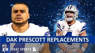 Dak Prescott Replacements: Top Options Ft. Teddy Bridgewater, Justin Herbert, Cam Newton + Tom Brady