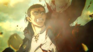The Ending Scene of Attack on Titan Season 4 Part 1   Eren