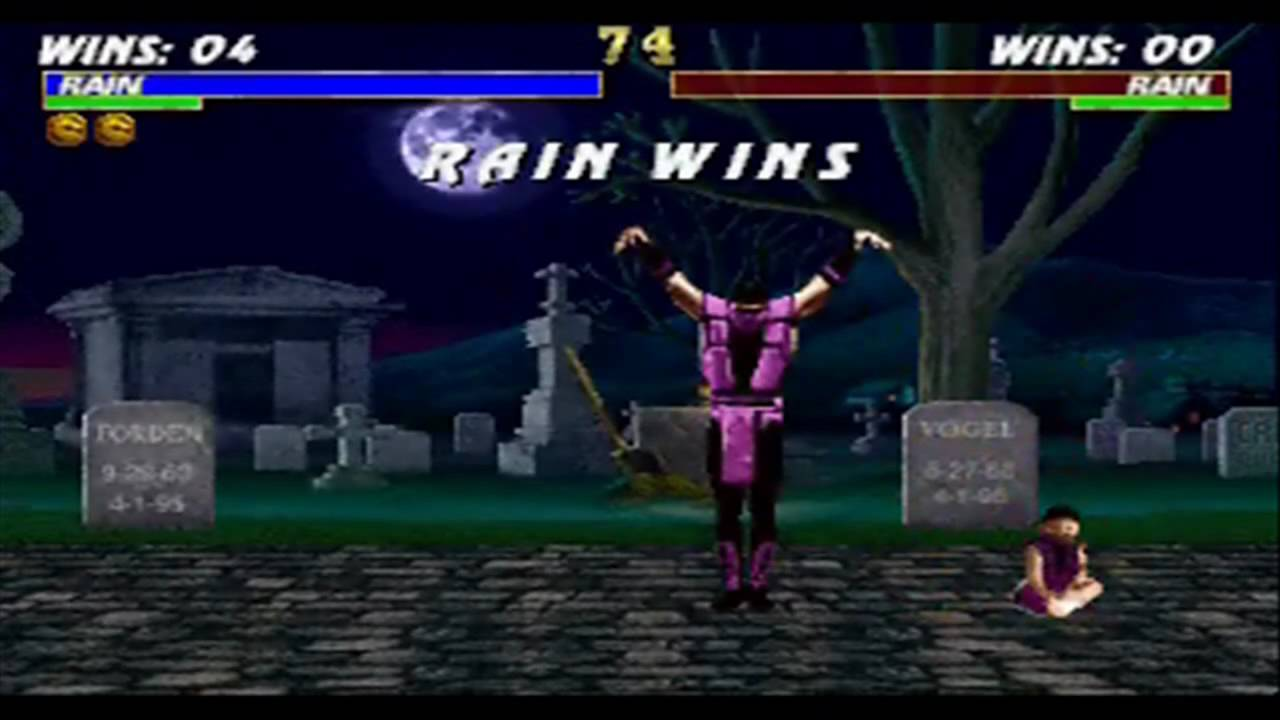 Mortal Kombat Trilogy - Rain Babality - YouTube