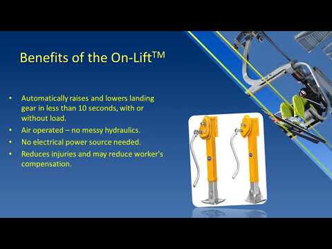 Powered landing gear for trailers with 5th wheel