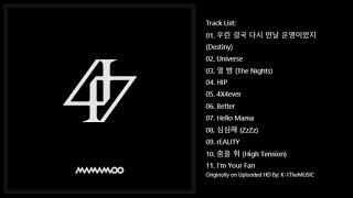 [FULL ALBUM] 마마무(MAMAMOO) - reality in BLACK (2nd Album)