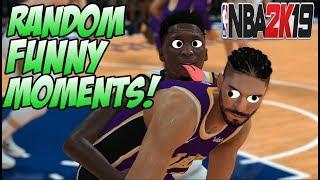 NBA 2k19 MyPlayer MyCareer Funny Moments and Fails
