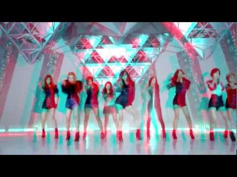 [3D] Girls' Generation - THE BOYS [REAL 3D] ANAGLYPH VERSION