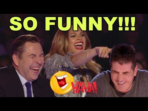 TOP 10 MOST FUNNY & HILARIOUS AUDITIONS ON BRITAIN'S GOT TALENT OF ALL TIMES!
