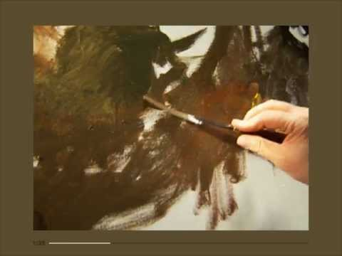 Gustave Courbet's Painting Technique