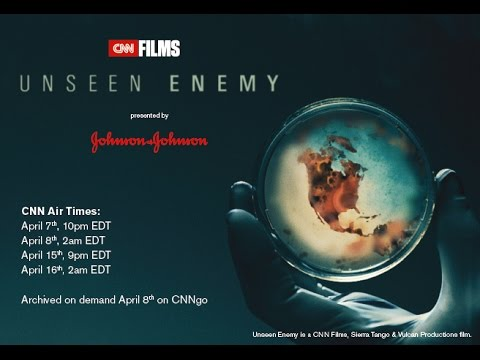 Unseen Enemy trailer with Johnson & Johnson introduction