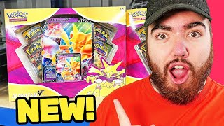 *GOLD PULL!* Opening the NEW Alakazam V Pokemon Boxes!