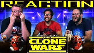 Star Wars: The Clone Wars Official Trailer REACTION!! #CloneWarsSaved