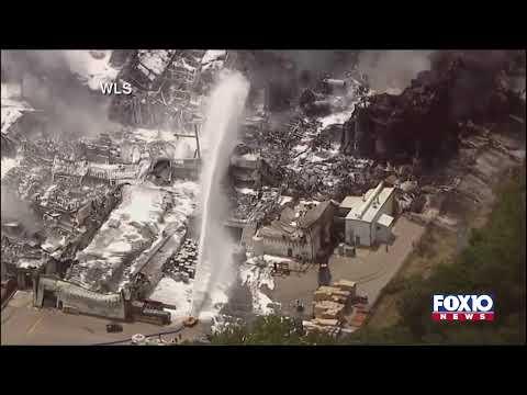 Rockton, Illinois Chemical Fire