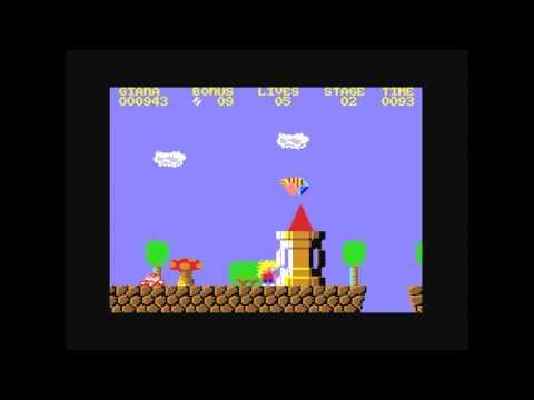 C64 - Super Marioahner Sisters (Giana Sisters MOD)