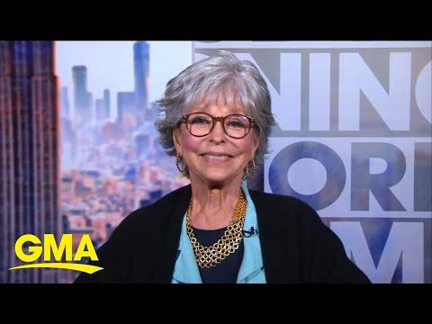 Rita Moreno talks her legendary career and upcoming documentary l GMA