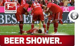 Ribery's Beer Shower - Advent Calendar Number 5