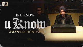 IF U KNOW U KNOW – Amantej Hundal Video HD