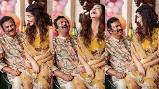 Manchu Lakshmi, Mohanbabu daughter's day celebrations..