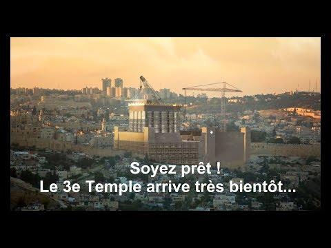 Un autre signe de la fin des temps: Le 3e Temple. Les plans sont prêts! L'apocalypse approche