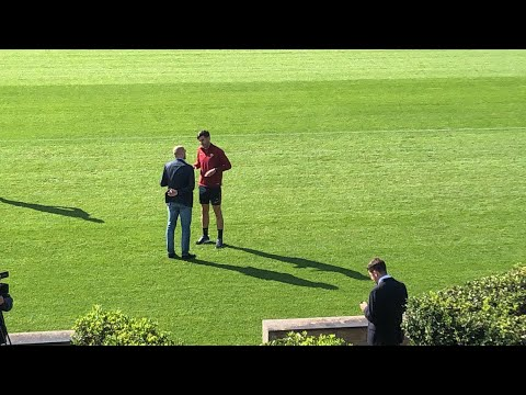 VIDEO - Petrachi e Fonseca a colloquio sul campo prima dell'allenamento