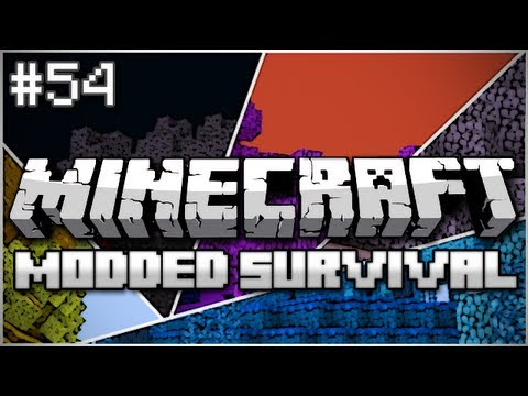 Minecraft: Modded Survival Let's Play Ep. 54 - I Believe I Can Fly - Smashpipe Games