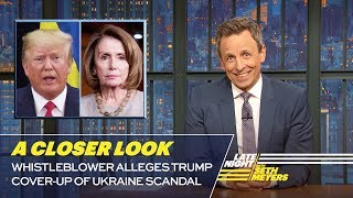 Whistleblower Alleges Trump Cover-Up of Ukraine Scandal: A Closer Look