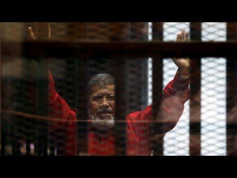 Expresidente egipcio Mohamed Morsi fallece durante audiencia en la corte