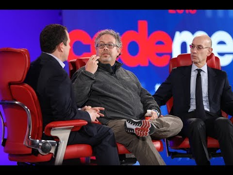 Full interview: Rony Abovitz, founder of Magic Leap, and Adam Silver, NBA Commissioner