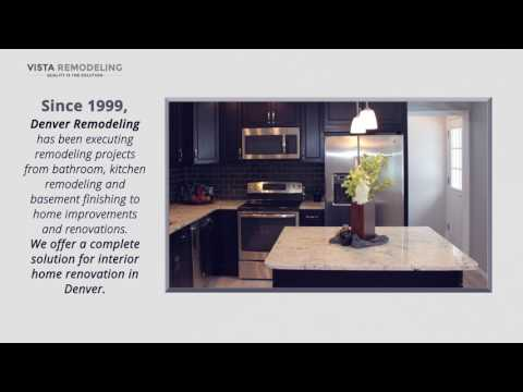 Professional Kitchen Remodeling in Denver - Vista Remodeling, LLC