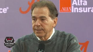 Nick Saban is confident in Mac Jones before the Iron Bowl vs. Auburn | College Football on ESPN