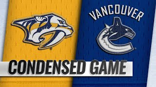 12/06/18 Condensed Game: Predators @ Canucks