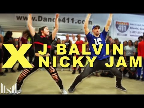 X (Equis) - Nicky Jam & J Balvin Dance | Matt Steffanina | DANCECON 6: Atlanta