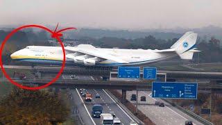 L'incredibile Decollo Dell'aereo Più Grand Del Mondo