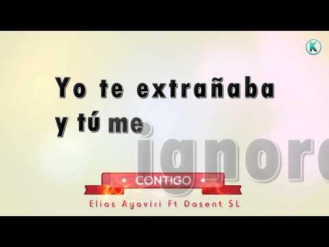 ♥ CONTIGO ♥ Elias Ayaviri LETRA Rap Boliviano 2016