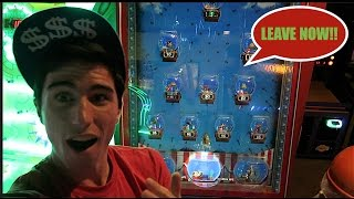 KICKED OUT OF THE ARCADE FOR WINNING JACKPOTS! (NOT CLICK BAIT)