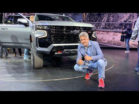 Presentan la nueva Chevrolet Suburban y Tahoe 2021 en Detroit • Vlog 238