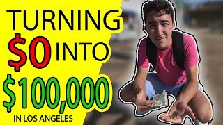 TURNING $0 into $100,000 - CHALLENGE