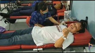 Ramaikan HUT Jawa Pos Radar Bali dengan Donor Darah