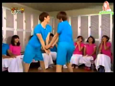 Hyuna - Bubble Pp dance (funny version) (ENG SUB)