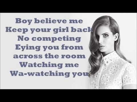 Lana Del Rey - Hit and Run Lyrics