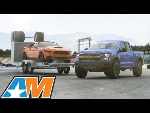 AmericanMuscle is giving away a 2017 Ford Raptor, 850+ HP Mustang and Racing Trailer to celebrate their 10th anniversary!