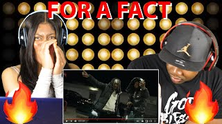 SimxSantana - For A Fact (Feat. King Von) REACTION