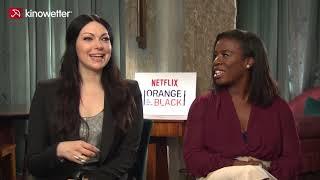 Interview Laura Prepon, Uzo Aduba ORANGE IS THE NEW BLACK