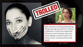 Tamannaah faces backlash on 'All Lives Matter' post; users..