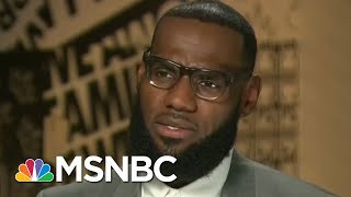 Terence Moore: LeBron James Will Not Be Intimidated By President Donald Trump | AM Joy | MSNBC