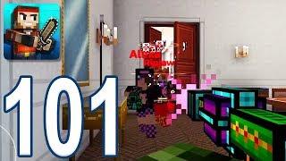 Pixel Gun 3D - Gameplay Walkthrough Part 101 - Adamant Laser Cannon (iOS, Android)