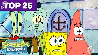 Top 25 Most Underrated SpongeBob SquarePants Jokes 🐟 | SpongeBob