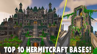 Top 10 HERMITCRAFT 7 Bases!