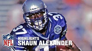 Shaun Alexander Big Run Highlights | NFL