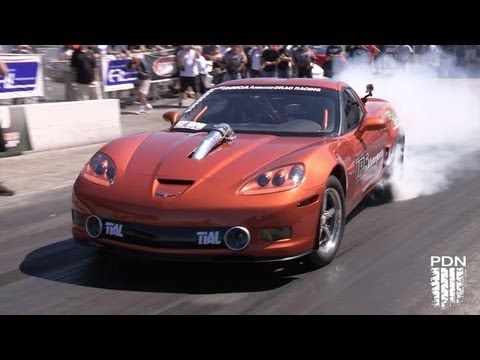 Twin Turbo Corvette - Holley LS Fest