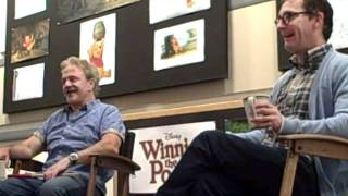 Interview with Jim Cummings and Tom Kenny - Winnie the Pooh movie ROUGH CUT